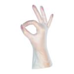 Вінілові рукавички mediOk / Безбарвні