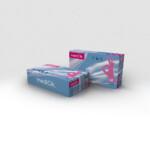 Нитриловые перчатки mediOk / Розовые