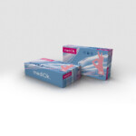 Нитриловые перчатки mediOk / Розовые (Фламинго)