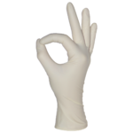 Латексные перчатки mediOk / Опудренные